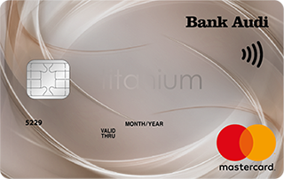 MasterCard Titanium - Bank Audi
