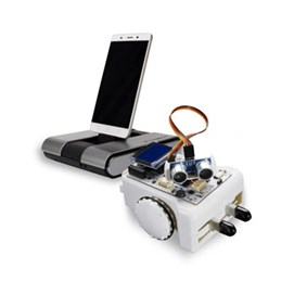Sparki Educational Robot + PadBot T1 telepresence robot