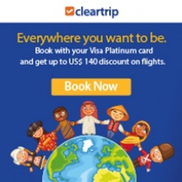 $140 DISCOUNT WITH CLEARTRIP
