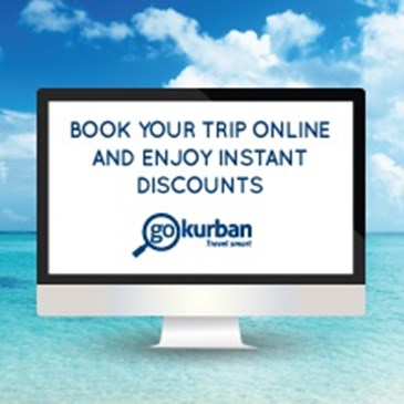 BOOK YOUR TRIP ONLINE & ENJOY INSTANT DISCOUNT WITH GOKURBAM