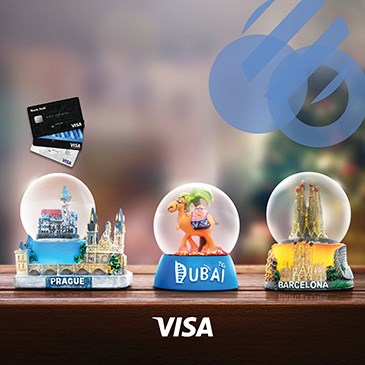 USE YOUR VISA CREDIT CARD ABROAD