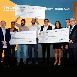 "The Beirut Traders Association Announces the Winners of the  ""Grow My Business"" Competition – 2017 Edition, in Collaboration with the MIT Enterprise Forum – Pan Arab Region and in Partnership with Bank Audi"