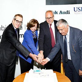 Bank Audi and USJ Seal their 40-year Partnership