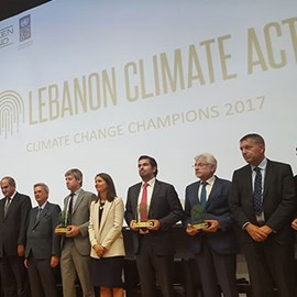 Lebanon Climate Act Award Ceremony