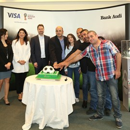 "Bank Audi and Visa Announce Winner of the ""Attend 2018 FIFA World Cup™"" Promotion"