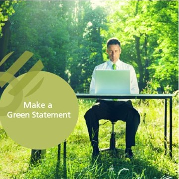 Make a Green Statement and help save the environment